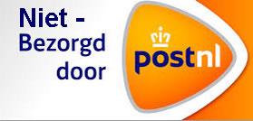 Niet bezorgd postNL